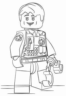 Malvorlagen Lego Gratis Lego Verdeckt Ermittelder Polizist Ausmalbild 839