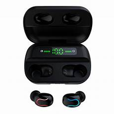 Digital Display Dual Bluetooth Earphone Wireless by Other Gadgets Wireless Stereo Bluetooth 5 0 Tws Earphone