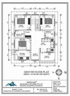 contemporary kerala style house plans 3 bedroom low cost home design in 1073 square feet with