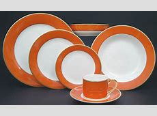 Pickard China ColorBurst Orange Gold collection   Made in