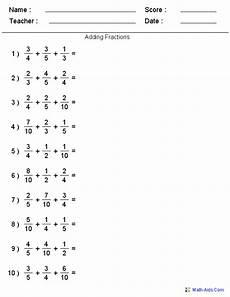 fraction worksheets 7 4129 fractions worksheets printable fractions worksheets for teachers fichas de matematicas