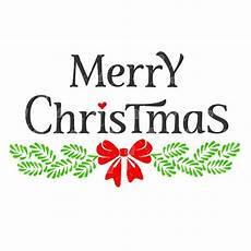 merry christmas bough word art svg etsy