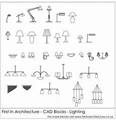 free cad blocks lighting first in architecture