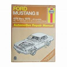 1974 78 ford mustang ii haynes repair manual 1amnl00187 at 1a auto com 1974 78 ford mustang ii haynes repair manual 1amnl00187 at 1a auto com