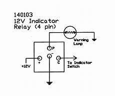 12v Electronic 4 Terminal