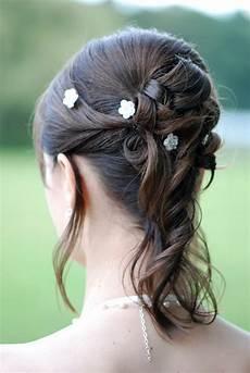 Halb Hochgesteckte Haare - halbe hochsteckfrisuren