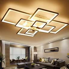 Led Beleuchtung Wohnzimmer Decke - surface mounted light modern led ceiling lights for living