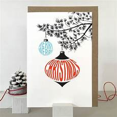 merry christmas card and of christmas cards by purpose worth etc notonthehighstreet com