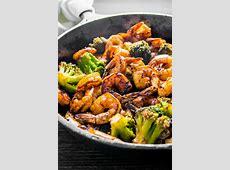 Honey Garlic Shrimp and Broccoli   Homemade Hooplah