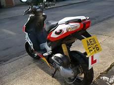 2011 aprilia sr 50 r 50cc white twist go moped scooter