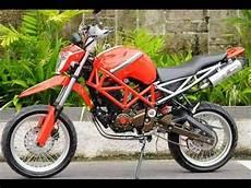 Supermoto Keren by Cah Gagah Modifikasi Motor Yamaha Byson Supermoto
