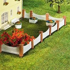 cloture de jardin cl 244 ture de jardin poteaux briques lames ajour 233 es n faller