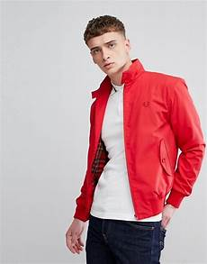 fred perry reissues made in harrington jacket in