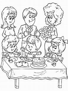 family coloring pages for preschoolers at getcolorings com free printable colorings pages to