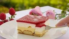 kuche ohne rezept himbeer schnitten mit vanillecreme kuchen ohne
