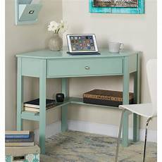 corner desk home office furniture mint green wooden corner desk laptop student writing home