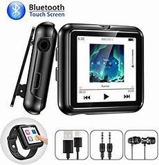 bluetooth mp3 player 8gb mit armband clip und touchscreen