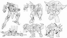 dinobots coloring pages 16835 tf classics dinobot minicons by beamer on deviantart