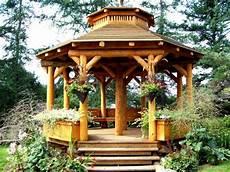Jardins Du Monde Am 233 Nager Jardin Le Kiosque En Bois