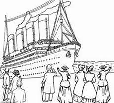 Gratis Malvorlagen Titanic Titanic Coloring Page V 228 Rityskuvia