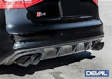 deval b8 5 audi s4 carbon fiber rear diffuser now sale