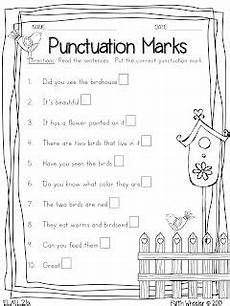 punctuation worksheets for grade 2 with answers 20771 4 free printables punctuation syllables telling time and math word problems grade