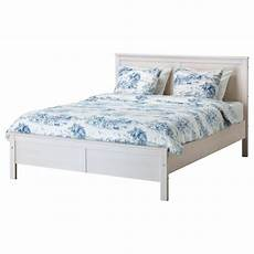 white bed with mattress ikea almost new excellent
