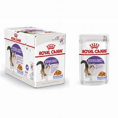 royal canin pouch sterilised katzenfutter
