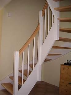 wangentreppe buche wei 223 halbgewendelt treppe holz