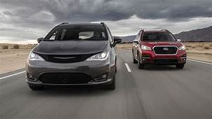 2019 Chrysler Pacifica Vs Subaru Ascent Comparison