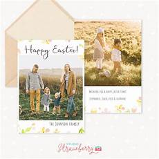 easter card photoshop template easter photo card template strawberry kit