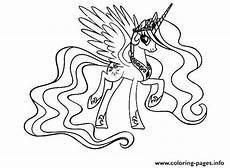 Malvorlage Prinzessin Celestia My Pony Ausmalbilder Prinzessin
