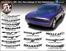 Dodge Challenger Graphics/Stripes/Decals – Streetgrafx