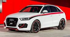 audi rs q3 gets a taste of abt tuning with 410ps version