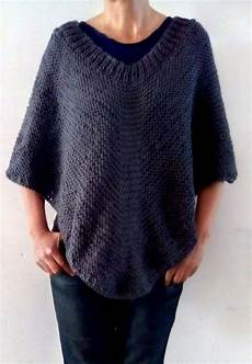 Free Knitting Pattern For Easy Moonlight Poncho Easy