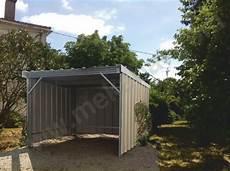 garage de jardin pas cher batiment hangar charpente et abri m 233 tallique en kit
