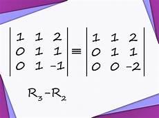 how to reduce a matrix to row echelon form 4 steps