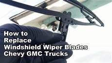 repair windshield wipe control 2008 chevrolet colorado engine control how to change windshield wipers chevy silverado colorado avalanche gmc sierra canyon easy