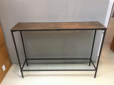 Konsole 30 Cm Tief - konsole bronze schwarz wandtisch metall schwarz breite