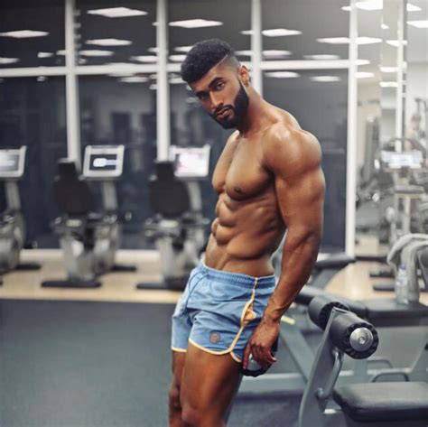 Black Male Fitness Models