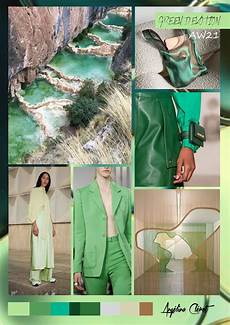 green devotion aw21 fashion colors trend by ang 233 lina