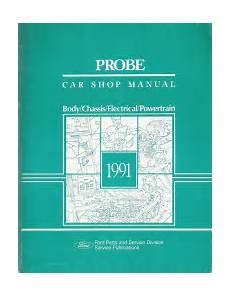 small engine repair training 1993 ford f150 free book repair manuals 1991 ford probe factory service manual