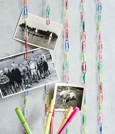 postkarten aufhängen ideen kettenreaktion fotoleiste aus b 252 roklammern bild 5