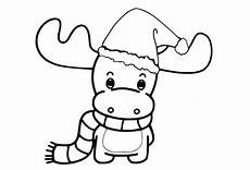 30 free reindeer coloring pages printable
