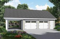 house plans with detached garages detached garage plan with carport 51185mm