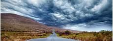 free of clouds hills landscape