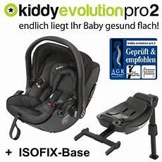 kiddy babyschale evolution pro 2 isofix schwarz test