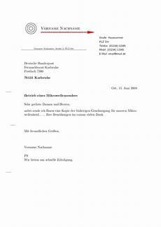 brief vorlagen f 252 r stefan s weblog