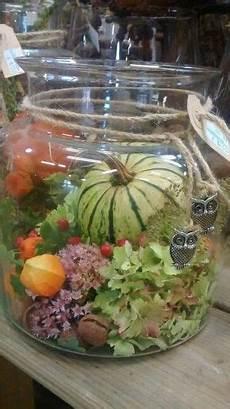 Der Herbst Im Glas Herbst Dekoration Herbstdeko Und