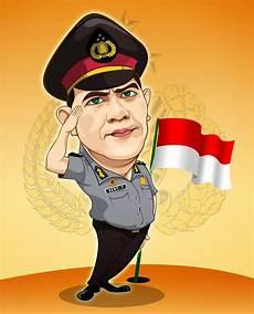 Kumpulan Gambar Karikatur Polisi Indonesia Duinia Kartun